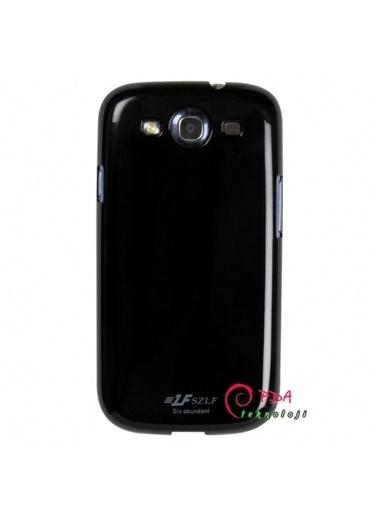 Samsung Samsung I9300 Galaxy S3 Sert KauÇuk Parlak Telefon Kılıfı Renkli